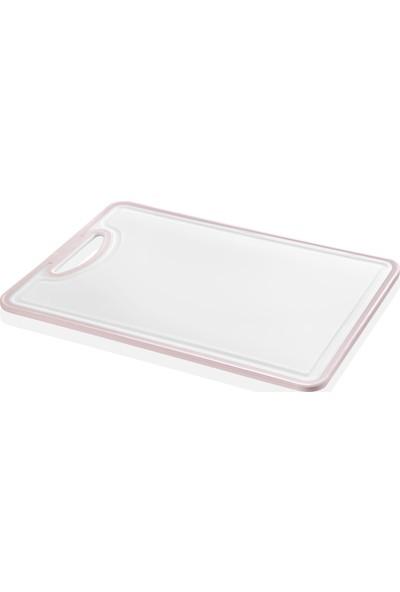 Emhouse Plastik Kaymaz Silikonlu Kesim Panosu Doğrama Tahtası