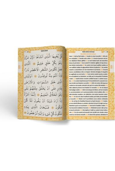 Mutluluk Atölyem Kabe Motifli Tesbihli Yasin Cüzü Kitabı Mevlüt Seti - 10'lu Paket
