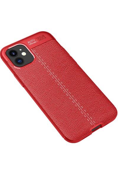 Case 4U Apple iPhone 12 Kılıf Darbeye Dayanıklı Niss Arka Kapak Siyah