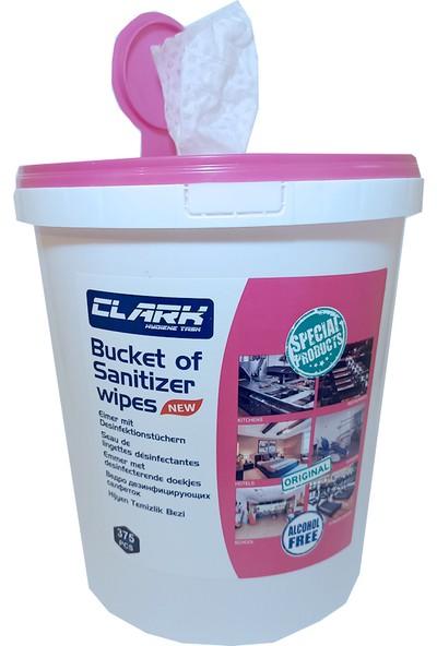 Clark Hijyen Kovası Hijyen Temizlik Bezi Alkolsuz 375 Adet