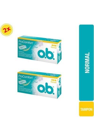 O.b. Procomfort Normal 16'lı x 2 Adet Tampon