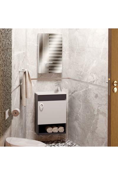 Belinza Hira Banyo Dolabı Takımı 50 cm