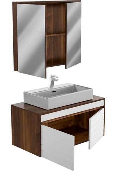 Belinza Omega Banyo Dolabı Takımı 80 cm
