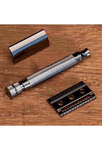 Qualis Shave S4 Tıraş Makinesi + Fırça + Kase + 5 Adet Jilet