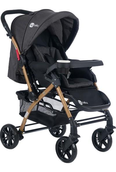 4 Baby AB310 Active Gold Çift Yönlü Bebek Arabası