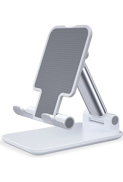 Asfal Iki Kademeli Ayarlanabilir Katlanabilir Tablet ve Telefon Tutucu Stand
