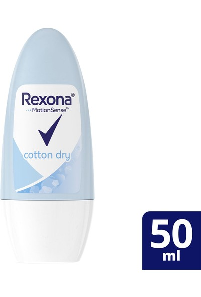 Rexona Cotton Kadın Roll On Deodorant 50 ml
