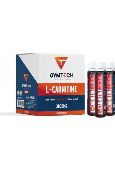 Gymtech L-Carnitine 3000 Mg 20 Adet Shot Limon Aromalı