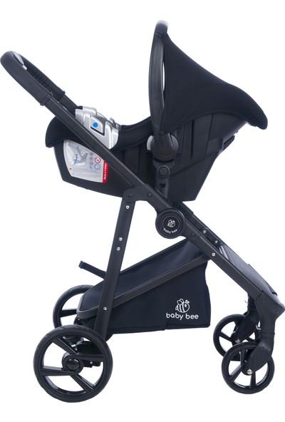 Baby Bee Plus+ Travel Sistem Bebek Arabası Silver