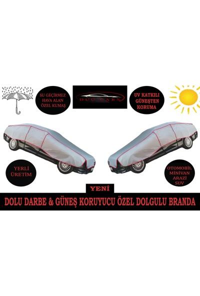 Duucars 4 Katlı 5.50x3.20 m Dolu Güneş & Darbe Güneş Koruyucu Özel Dolgulu Oto Branda