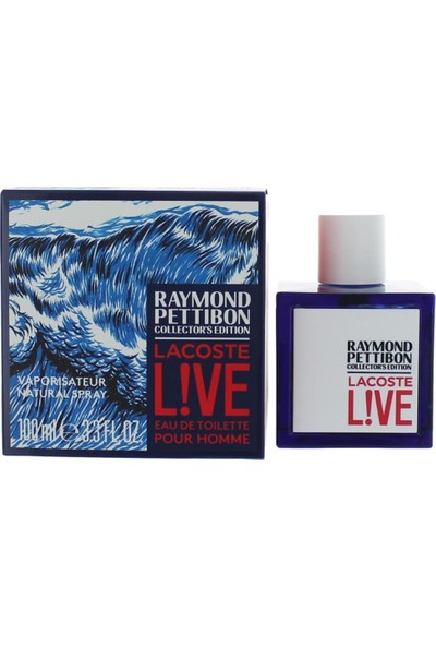 Lacoste Live Raymond Pettibon Edt 100 ml Erkek Parfümü