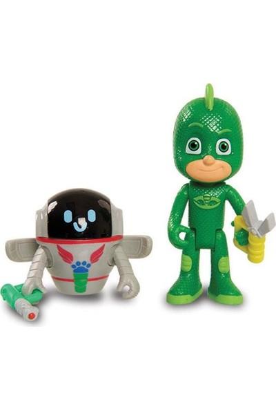 Pj Masks İkili Figür -Kertenkele Çocuk & Robot