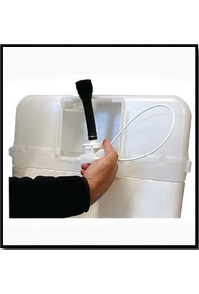 Tema Siamp Universal Gömme Rezervuar Değişim Kiti Parlak Krom 8 cm