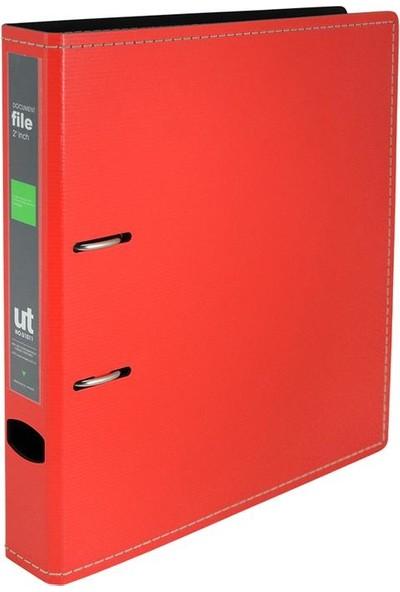 Shuter Kauçuk Mekanizmalı Dar Klasör Kırmızı Renk U1011