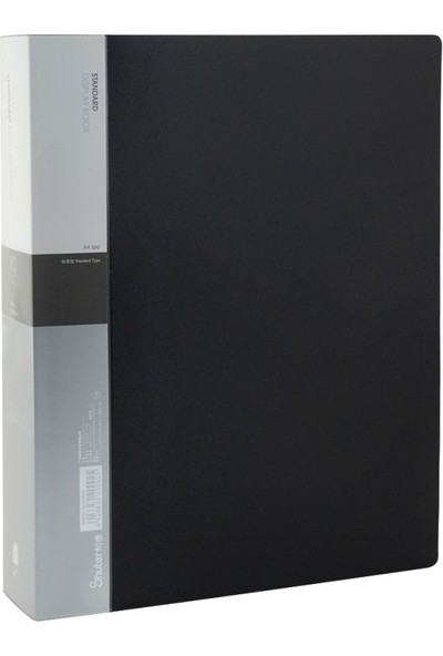 Shuter A4 Sunum Dosyası S80A 80'li Siyah