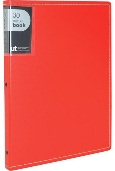 Shuter Pp Kapak Sunum Dosyası 30'lu Kırmızı