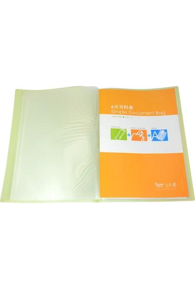 Shuter Yumuşak Kapak Sunum Dosyası 6'lı Yeşil