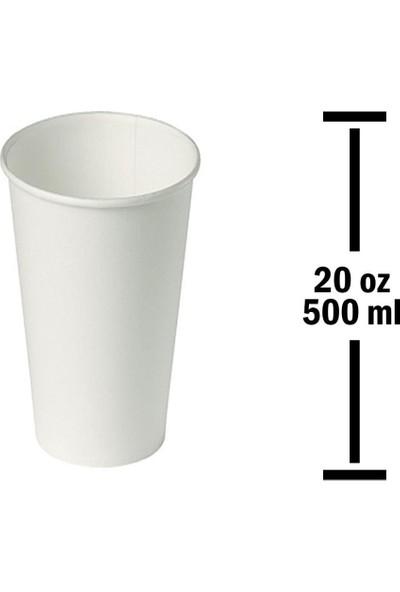 Huhtamaki Kağıt Bardak 20 Oz 500 ml 50'li Paket