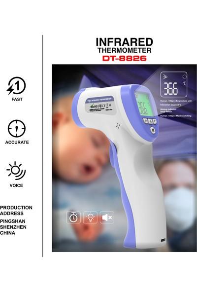 Hello Baby Temassız Ateş Ölçer Kızıl Ötesi Vücut ve Alından Termometre