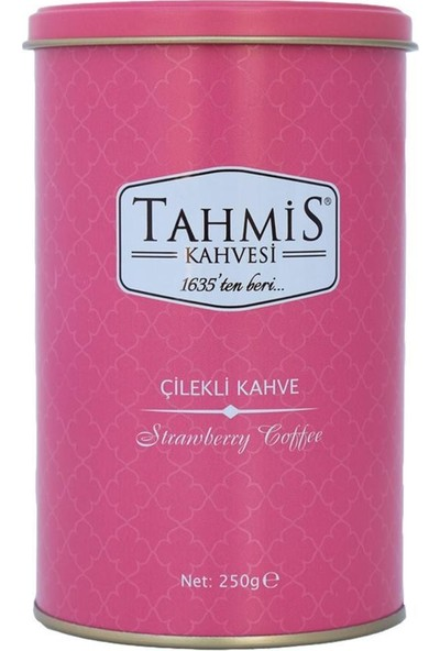 Tahmis Dağ Çilekli Türk Kahvesi Orta Kavrulmuş 250 gr Teneke