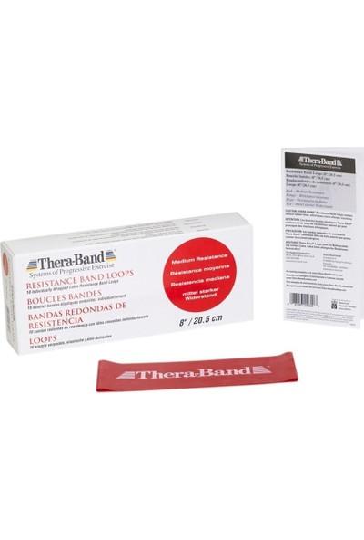 Thera-Band Professional Resistance Band Direnç Lastiği 7.6 cm x 20.5 cm Kırmızı