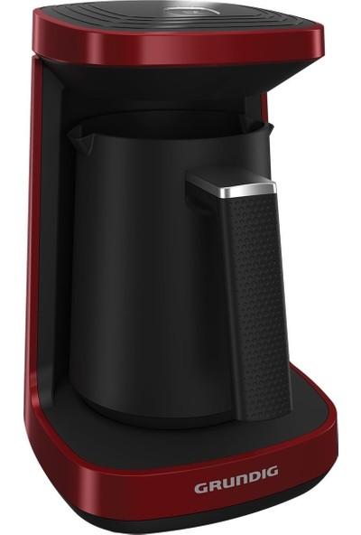 Grundig TCM 6100 R Kırmızı Türk Kahve Makinesi