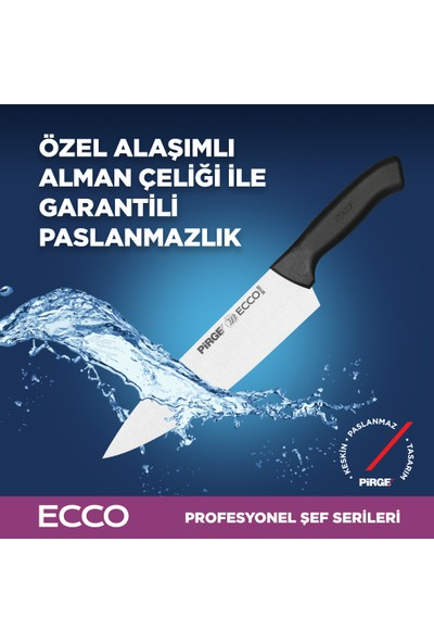 Pirge Ecco Şef Çiftler Bıçak Seti