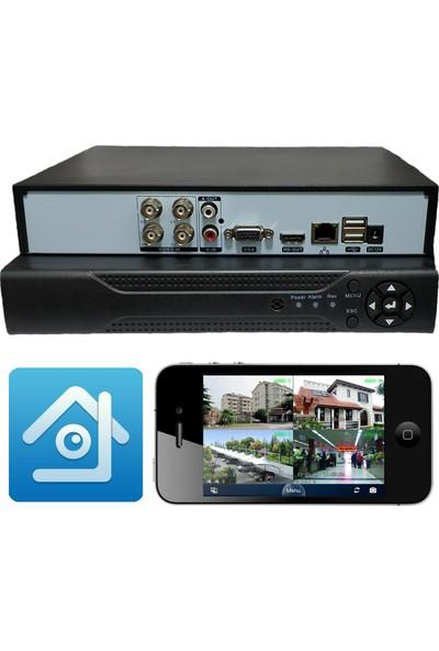 Elcam Ahd 4 Kanal Dvr Güvenlik Kamera Kayıt Cihazı Xmeye Yazılım Full Hd 1080