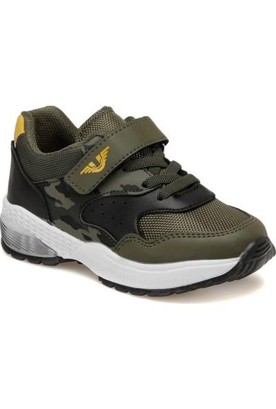 Yellow Kids Batta Haki Erkek Çocuk Spor Ayakkabı