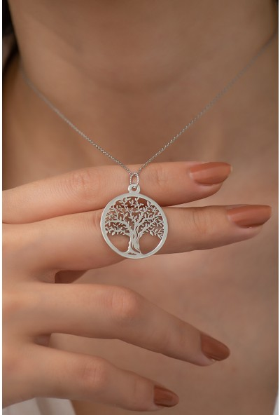 Gusto Silver Yaşam Ağacı Kolye