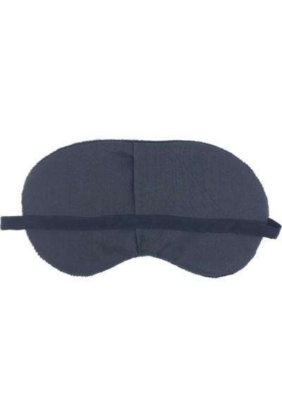 Attach Siyah Ponpon Göz Uyku Bandı