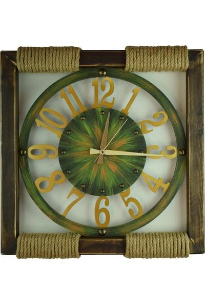Kayra Saat Kütük Latin Green 50 cm