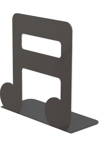 M&c Concept Nota Metal Kitap Desteği Siyah
