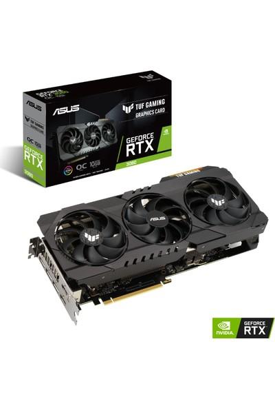 Asus GeForce RTX 3080 OC 10GB 320Bit GDDR6X (DX12) PCI-Express 4.0 Ekran Kartı (TUF-RTX 3080-O10G-GAMING)