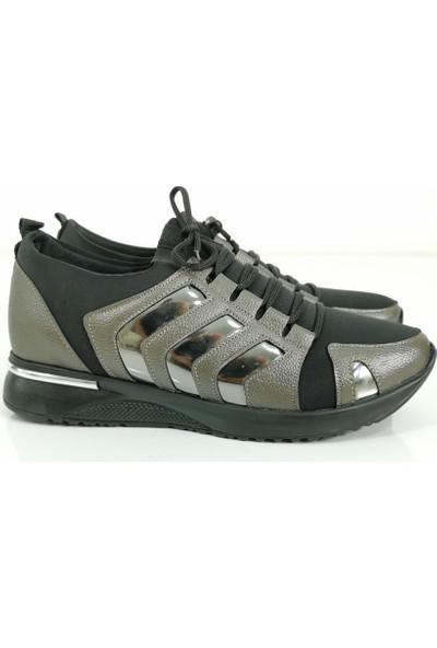 Cudo Kadın Soft Spor Ayakkabı - Platin
