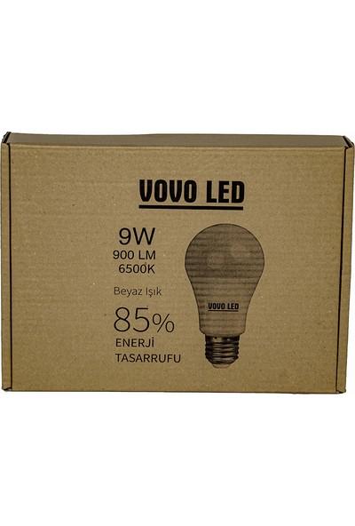 Vovo LED Ampul 9W 10'lu