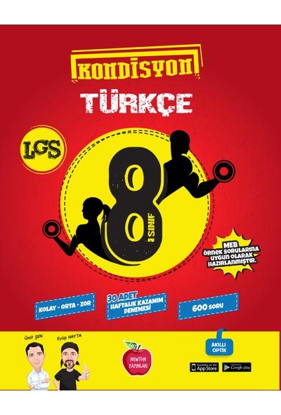 Newton Yayınları 8. Sınıf Kondisyon Türkçe Deneme