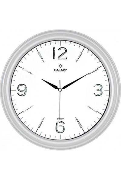 İş Saat Özel Kabartma Rakamlı Modern Dekoratif Duvar Saati