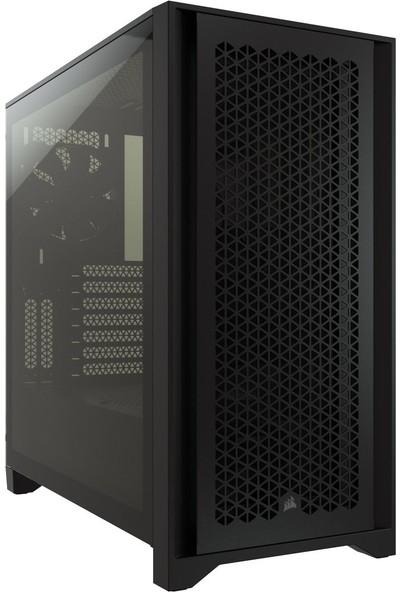 Corsair BKC-1200 4000D Airflow Tempered Glass Mid-Tower Siyah Bilgisayar Kasa CC-9011200-WW