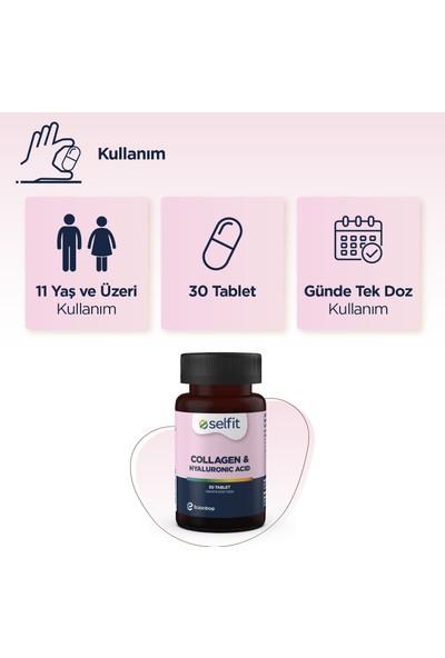 Selfit Collagen & Hyaluronic Acid Tablet 30 Tablet