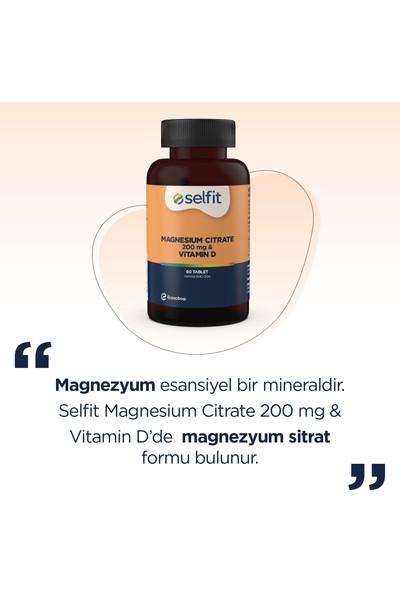 Eczacıbaşı Magnesium Citrate 200 Mg & Vitamin D