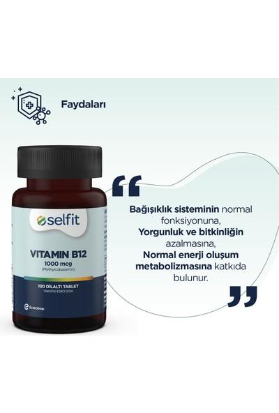 Selfit Vitamin B12 1000 Mcg 100 Tablet