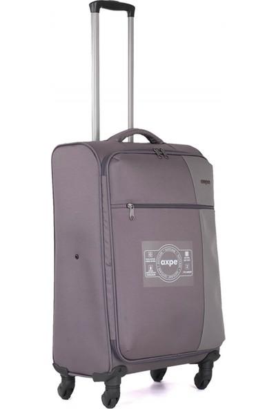 Axpe Bicolor İkili Bavul Seti GKS002 201 Gri