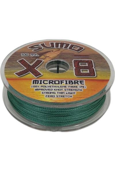 Effe Sumo X8 Ip Misina 100M Polietilen Micro Fiber Ip Misina Yeşil