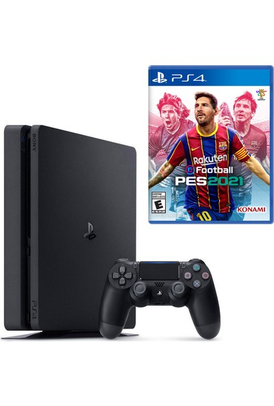 Sony PS4 Slim 500GB Konsol + PS4 Pes 2021