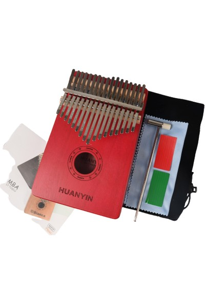 Huanyin CL17T-R Pro Color Edition Kalimba