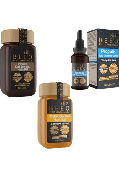 Bee'O Bal Propolis Paketi