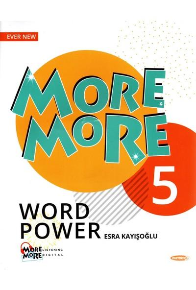 Kurmay Yayınları Elt More More 5. Sınıf English Word Power