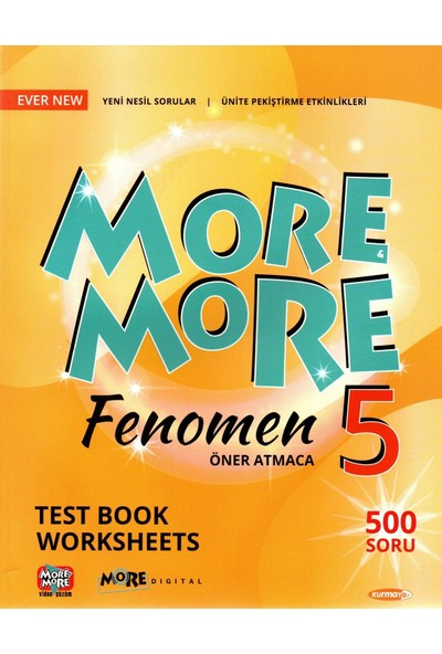 Kurmay Yayınları Elt More More 5. Sınıf English Fenomen Test Book