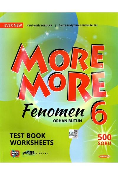 Kurmay Yayınları Elt More More 6. Sınıf English Fenomen Test Book